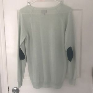 Market and spruce mint sweater